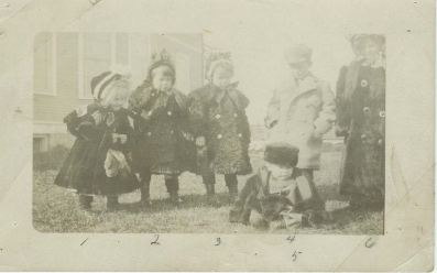 McDonald Children circa late 1910
