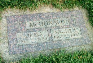 Angus and Louisa McDonald