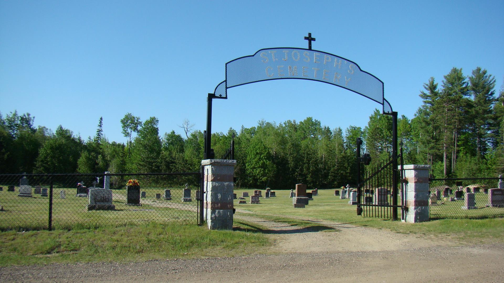 Allumette Island Quebec Canada Cemeteries