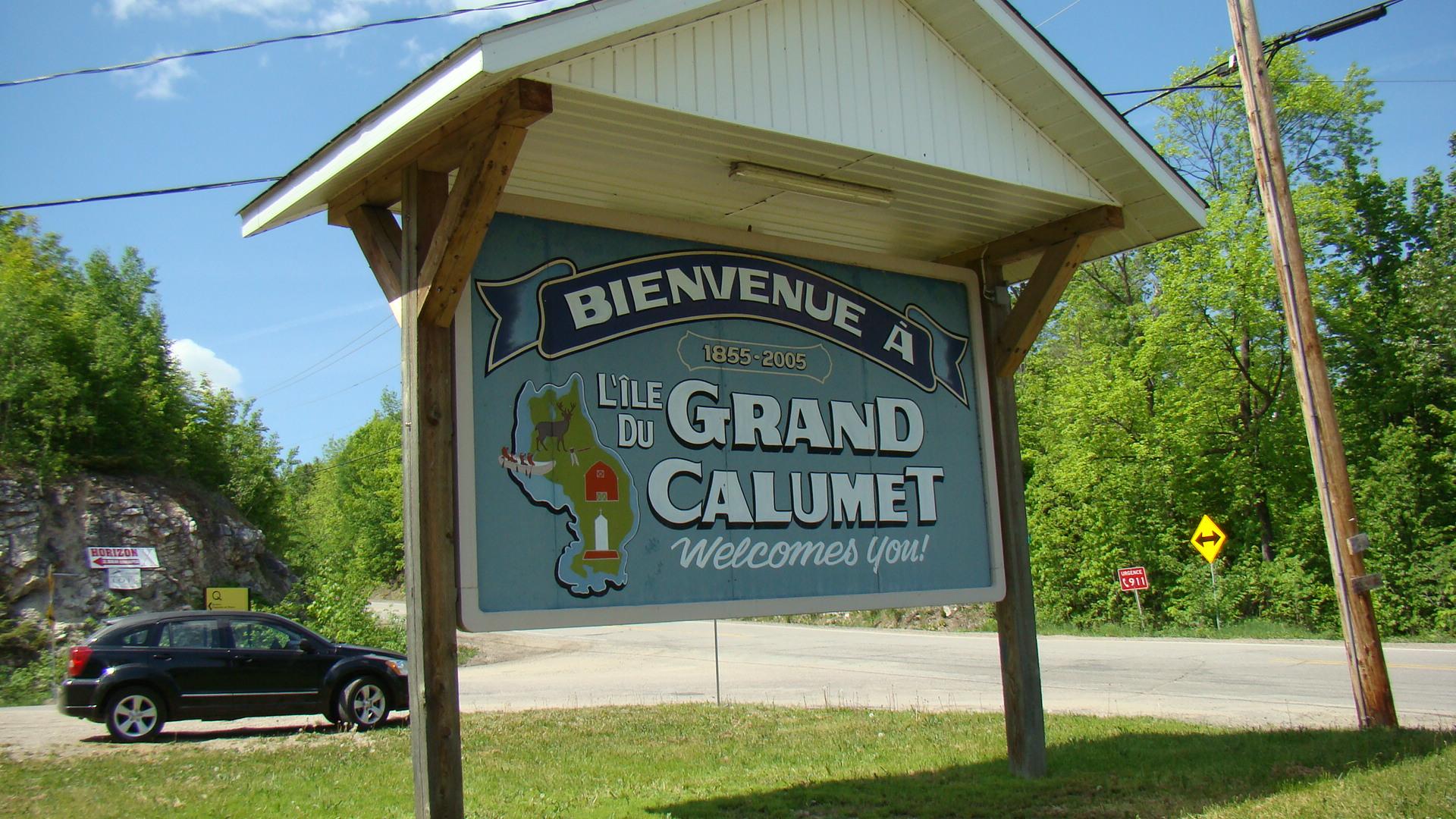 Calumet Island Pontiac County Quebec The Man Who Lived