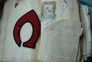 A example of a page of the journal.