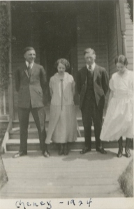 Guy, Vivian, Hilary and Miriam 1924