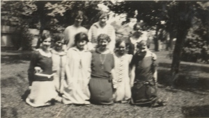 Vivian with Friends about 1923