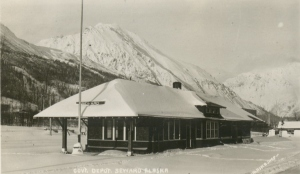 Seward Train Station