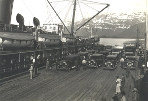 The Dock at Valdez, Alaska
