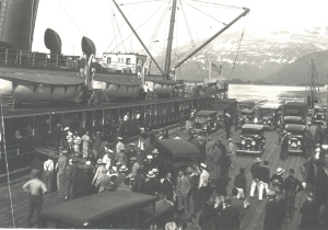 Another view of the dock in Valdez, Alaska