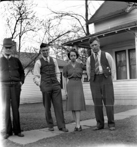 Ronald S. McDonald, Bill McKanna, Vivian and Hilary 1940's.
