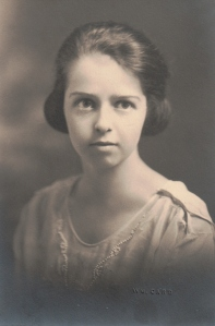 Vivian's School Graduation photo about 1923?
