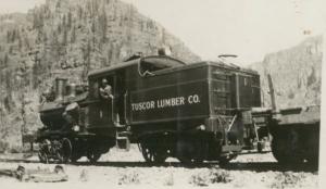 Tuscor Train, Montana 1924