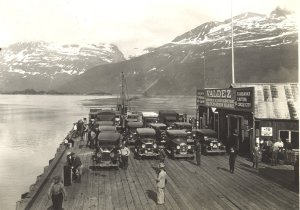 More of the dock at Valdez, Alaska