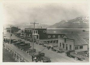 A street om Valdez, Alaska
