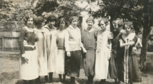 Another photo of the same group about 1923