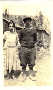 Vivian & Keith probably in Tuscor, MT 1924-25