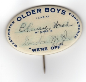 Older Boys conference 1922 - Gordon McDonald