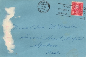 Gordon to Eddie in 1926