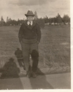 Gordon in the Spring of 1921