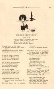 Senior Prophecy page 1
