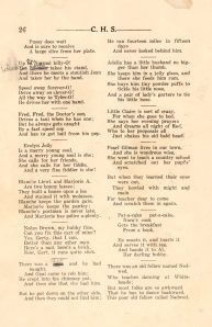 Senior Prophecy page 2 CHS 1925