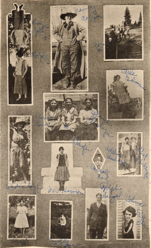 Pages from CHS yearbook 1925