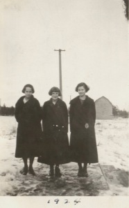 Miriam, Jean and Eddie Winter 1924