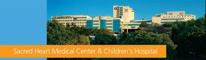 Sacred Heart Medical Center and Children's Hospital today...