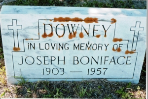Joseph Bonaface MacDonald 1903 to 1957