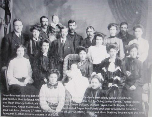 Sheenboro Families