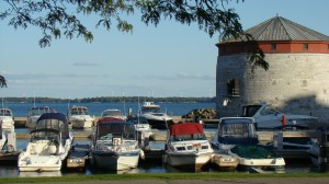 The marina in Kingston