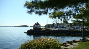 The St. Lawrence River at Brockville