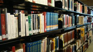 Reference stacks 3rd floor