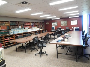 Special Collections 10th floor, Brock University