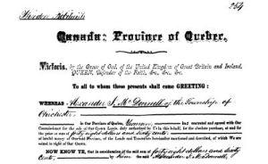 Alexander J. McDonell Patent 1883