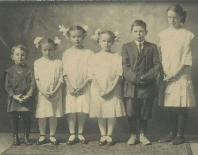 McDonald children in 1915