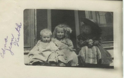Keith with his sisters