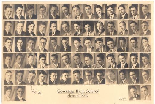 Gonzaga High School Class of 1929