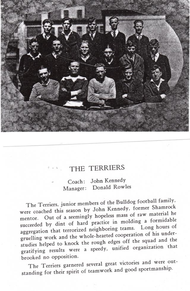 Terrier Football team 1928 - Gonzaga