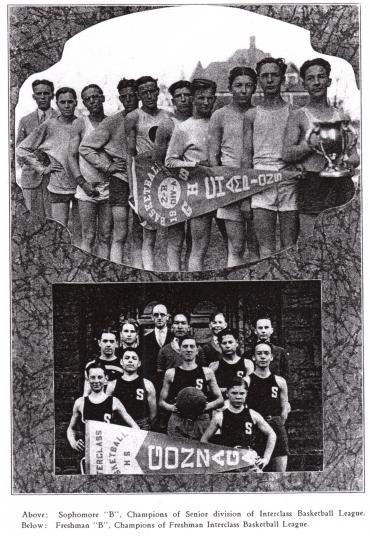 Gonzaga Baskettball  Sophomore circa 1928