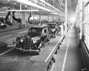 1935 Ford Minnesota Assembly Line