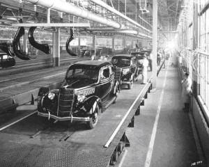 1935 Ford Minnesota Assembly Line