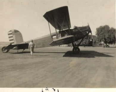 MAirplaneManwalking1931