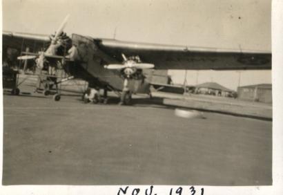 MAirplaneonFieldNov1931