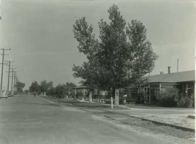 Street and buildings, maybe Chanute