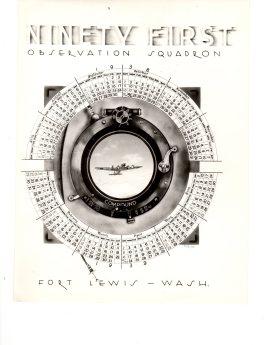 1938 91st Sqdrn Calendar