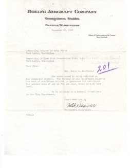 Dec. 1938 Letter from Boeing.