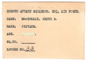 Card for the 8th Attack Squadron