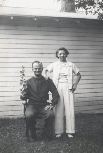 Keith and Marjorie July 5, 1941
