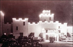 The Spanish Castle dance hall, built in the 1930 on HWY 99 at Midway. It was demolished April 7, 1968.