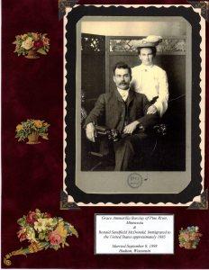 Grace Barclay & Ronald S. McDonald