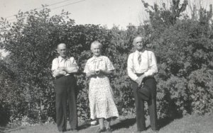 R.S. with his two his siblings
