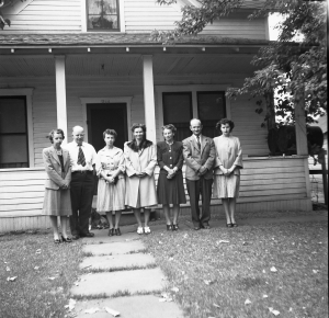The Children of Ronald and Grace about 1947